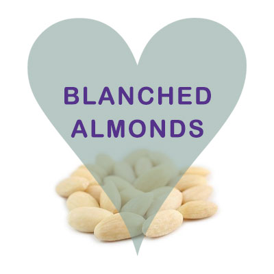 Scoops Blanched Almonds