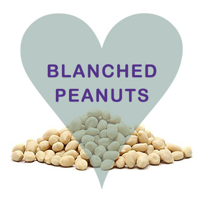 Scoops Blanched Peanuts