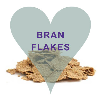 Scoops Bran Flakes cereal