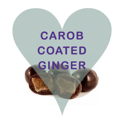 Scoops Carob Coated Ginger