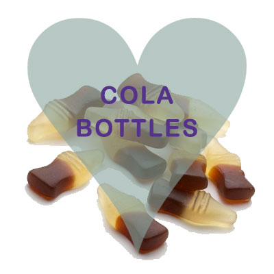 Cola Bottles pick and mix