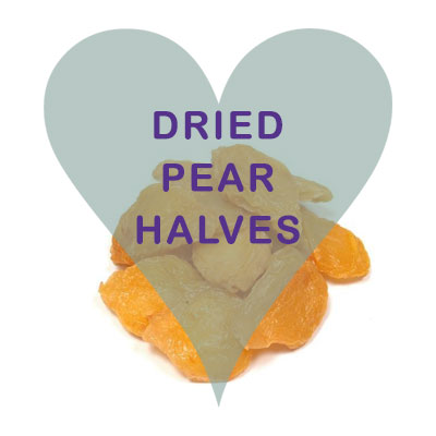 Scoops Dried Pear Halves