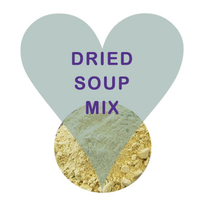 Scoops Dried Soup Mix