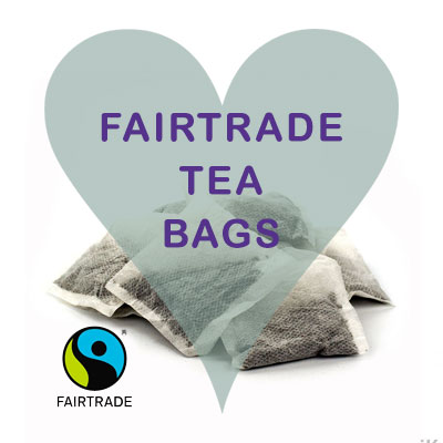 Scoops Fairtrade Tea Bags