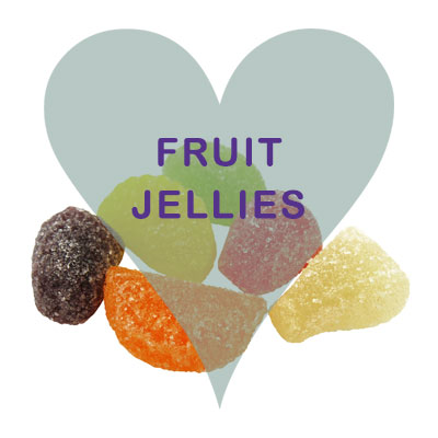 Fruit jellies pick and mix
