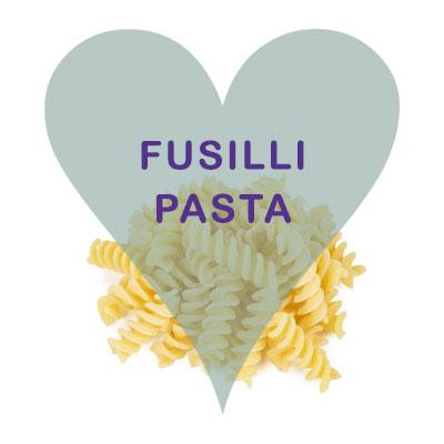 White Fusilli Pasta