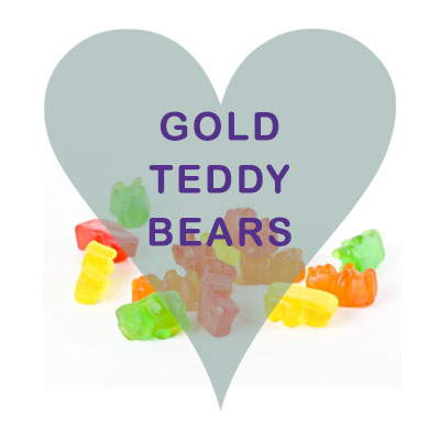 Harribo Gold Teddy Bears pick and mix