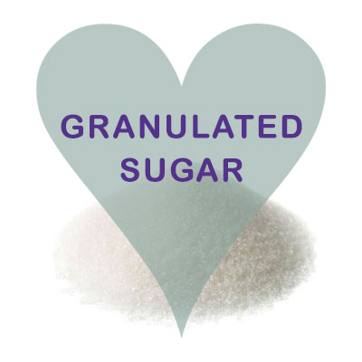 Scoops Granulated Sugar