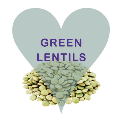 Scoops Green Lentils