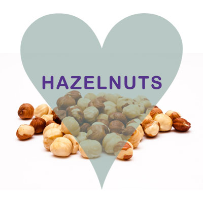 Scoops Hazelnuts