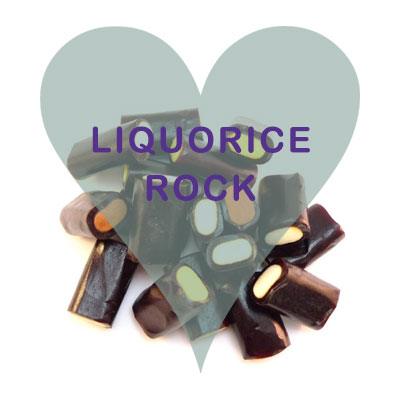 Liquorice Rock pick and mix