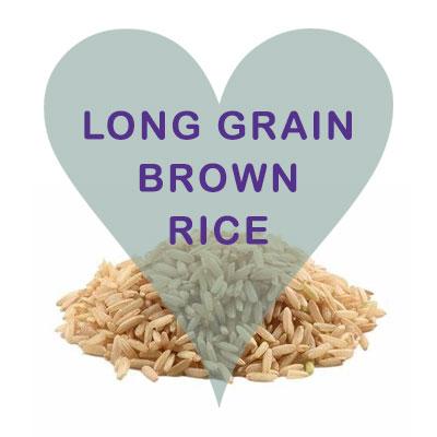 Scoops Long Grain Brown Rice