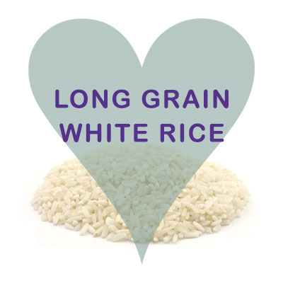 Scoops Long grain white rice