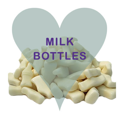 Milk Bottles pick and mix