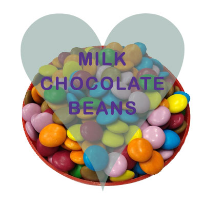 Milk Chocolate Beans pick and mix