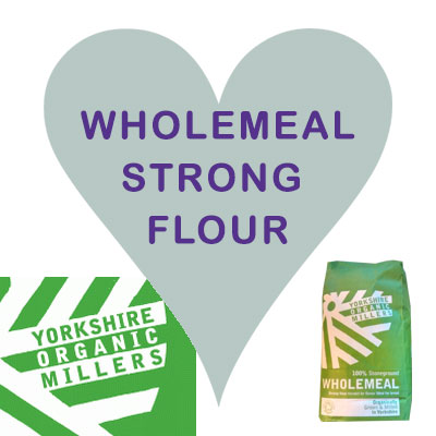 Yorkshire Organic Millers Wholemeal Strong Flour