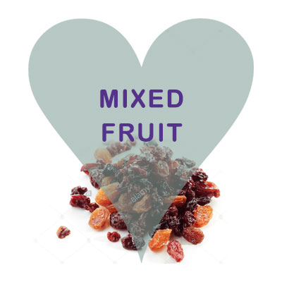 Scoops Mixed Fruit Sultanas Raisins Currants