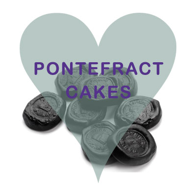 Pontefract cakes pick and mix