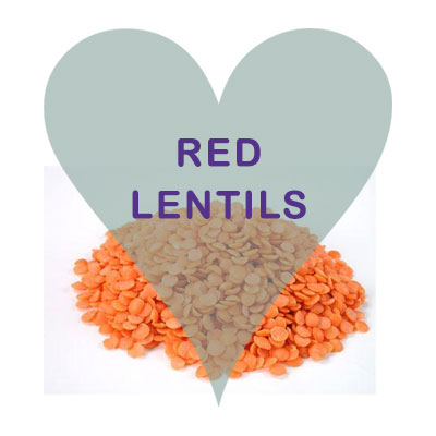 Scoops Red Lentils