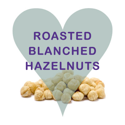 Scoops Roasted Blanched Hazelnuts