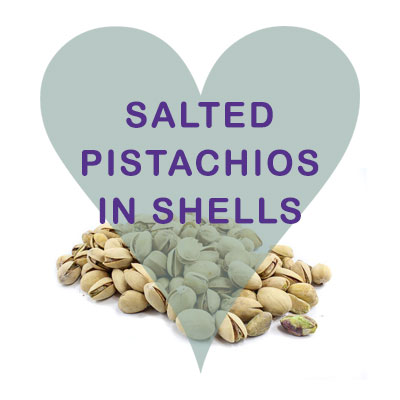 Scoops Pistachios in Shells, Salted