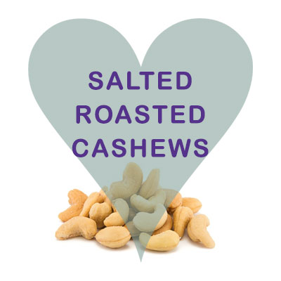 Scoops Salted Roasted Cashews