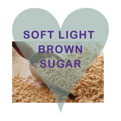 Scoops Soft Light Brown Sugar