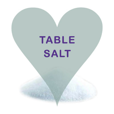 Scoops Table Salt
