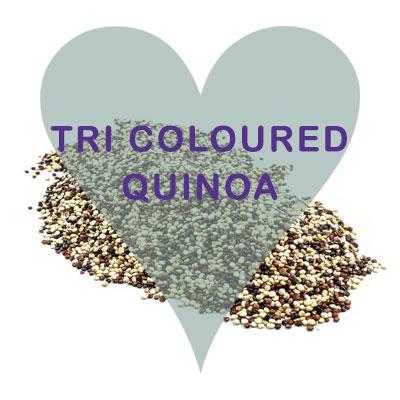 Scoops Tri Coloured Quinoa