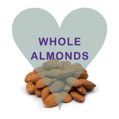 Scoops Whole Almonds