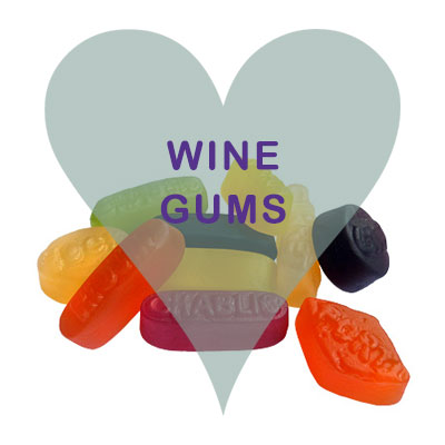 Wine gums pick and mix