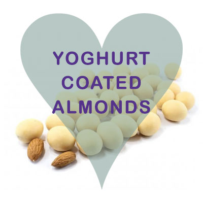 Scoops Yogurt coated Almonds