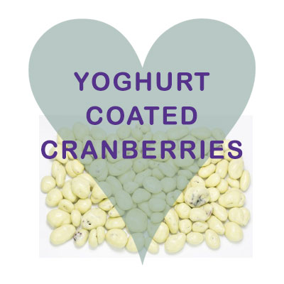 Scoops Yogurt coated Cranberries
