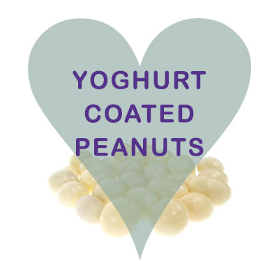 Scoops Yogurt coated peanuts