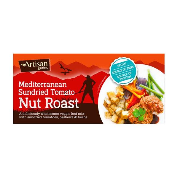 Artisan Grains – Mediterranean Sundried Tomato Nut Roast