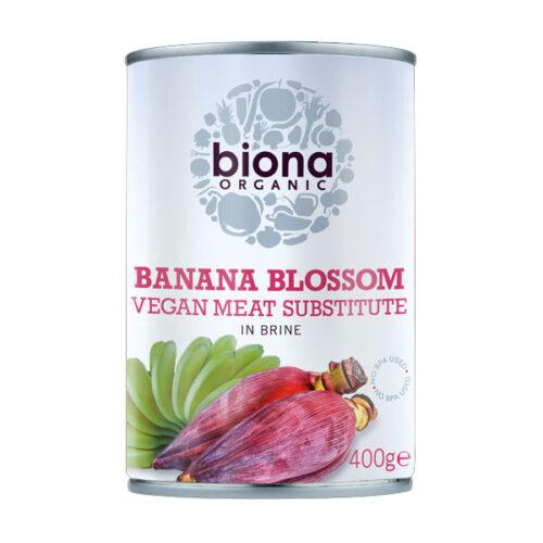 Biona Organic Banana Blossom Vegan Meat Substitue in Brine
