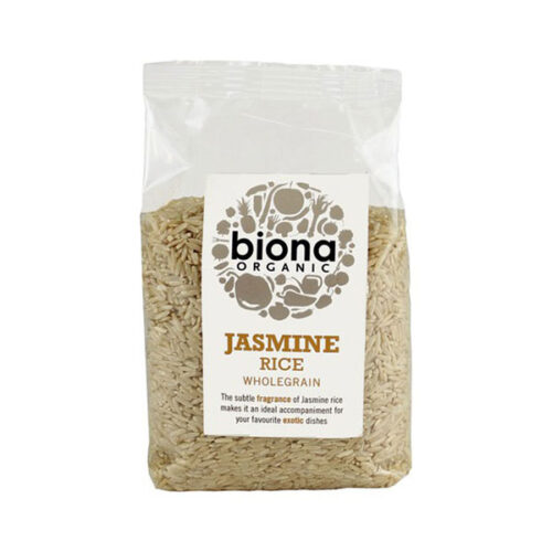 Biona Organic Jasmine Rice Wholegrain