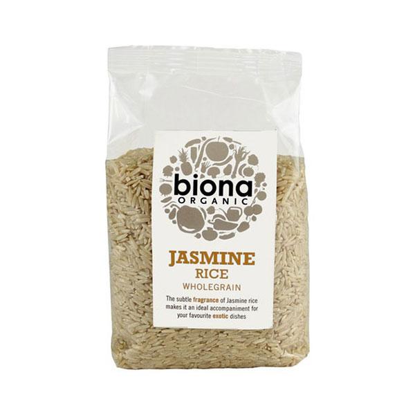 Biona Organic Jasmine Rice Wholegrain