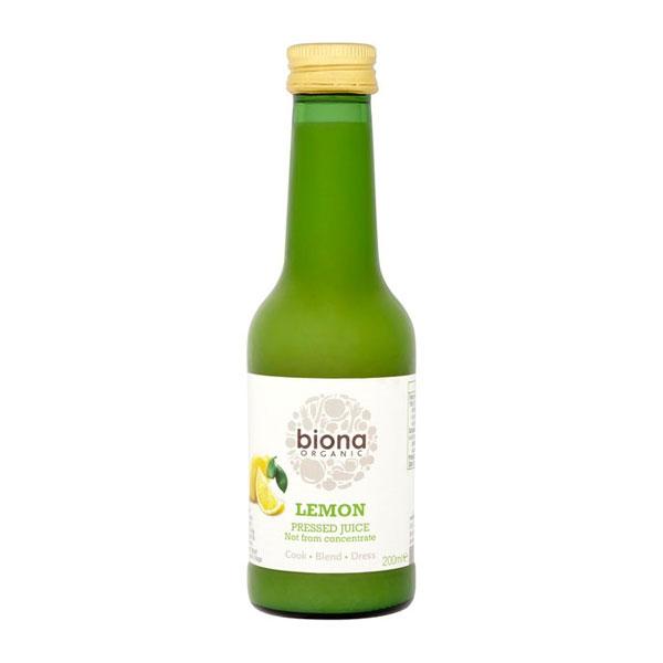 Biona Organic Lemon Pressed Juice