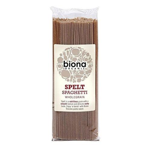 Biona Organic Spelt Spaghetti Wholegrain