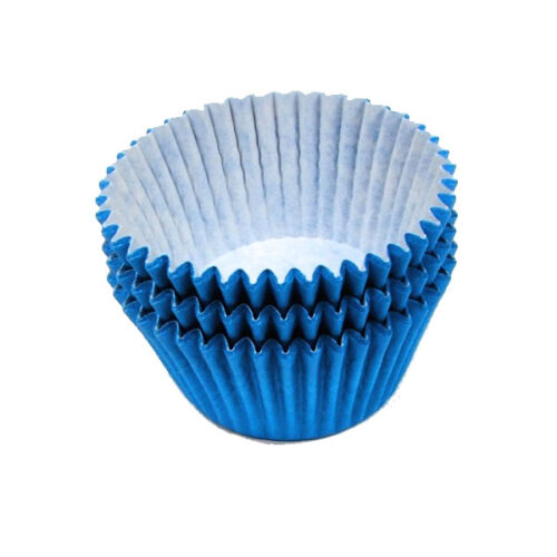 Blue Muffin Cases 36