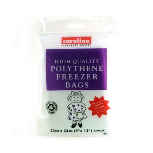 Caroline Polythene Freezer Bags