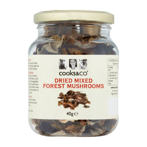 Cooks&Co Dried Mixed Forest Mushrooms