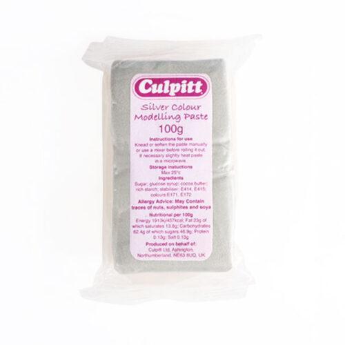 Culpitt - Modelling Paste - Silver Colour