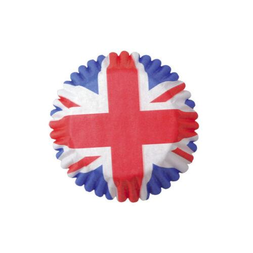 Culpitt Small Union Jack Baking Cases 54