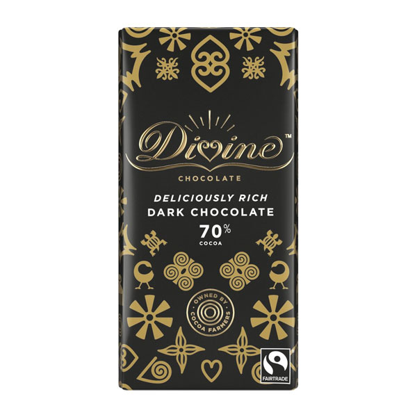 Divine Chocolate – Dark 70%