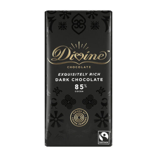 Divine Chocolate – Dark 85%