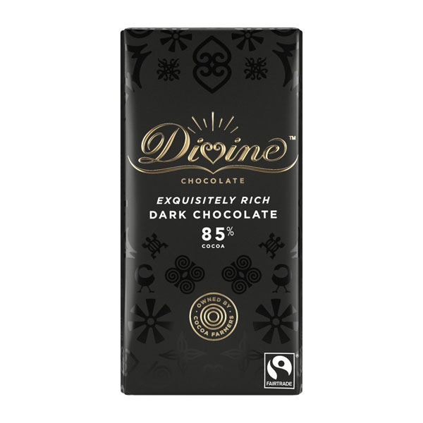 Divine Chocolate – Dark 85%
