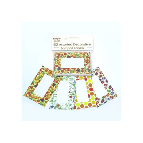 Easybake Assorted Decorative Jampot Labels