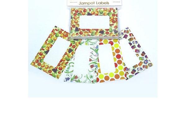 Easybake Assorted Decorative Jampot Labels
